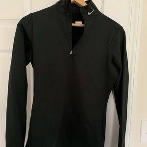 Nike Black Dryfit Quarter Zip